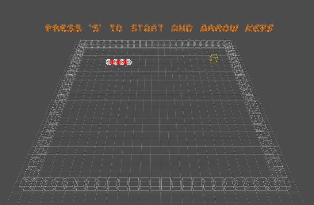 Primitive render game demo